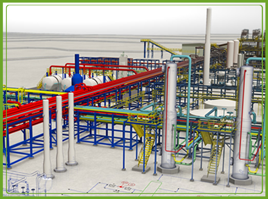 Mechanical Piping Design Detail Engineering Services India